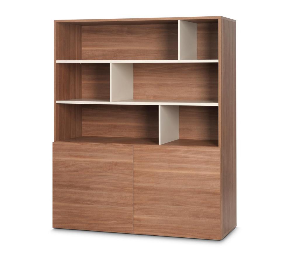 meubles carrefour rangement didit noyer. Black Bedroom Furniture Sets. Home Design Ideas