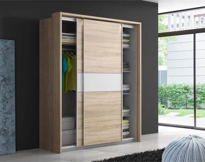 ulos plus armoire de chambre avec led pas cher armoire. Black Bedroom Furniture Sets. Home Design Ideas