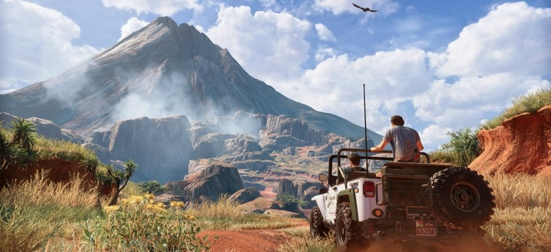 Capture d'écran du jeu «Uncharted 4».