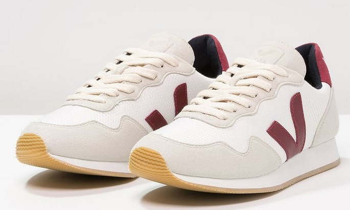 Veja SDU Baskets basses white sable/marsala