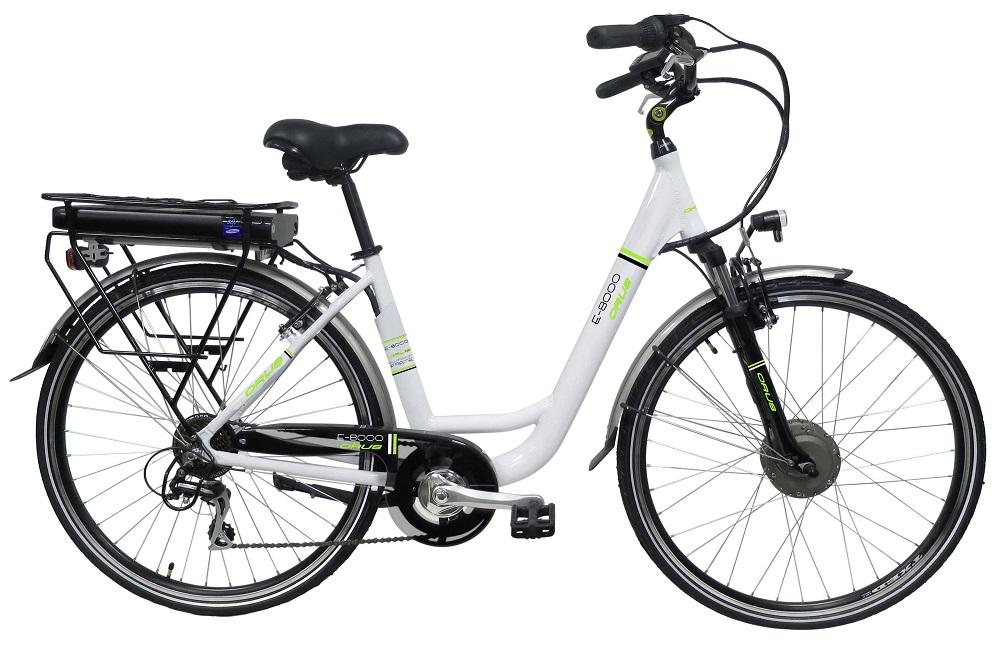 Vélo électrique CARREFOUR CITY 300 LADY Blanc