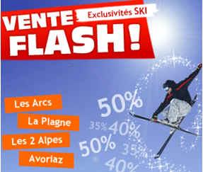 Vente Flash Ski Promovacances