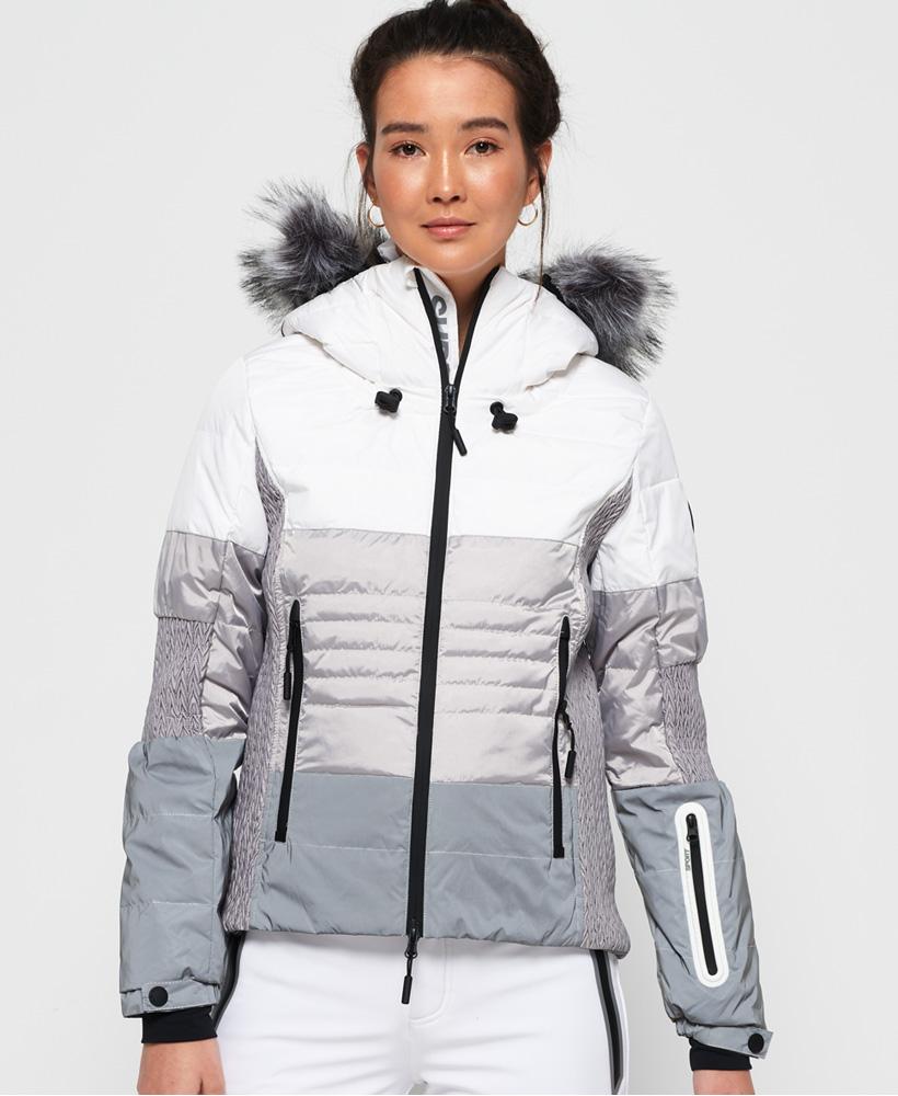 Veste de ski femme superdry soldes