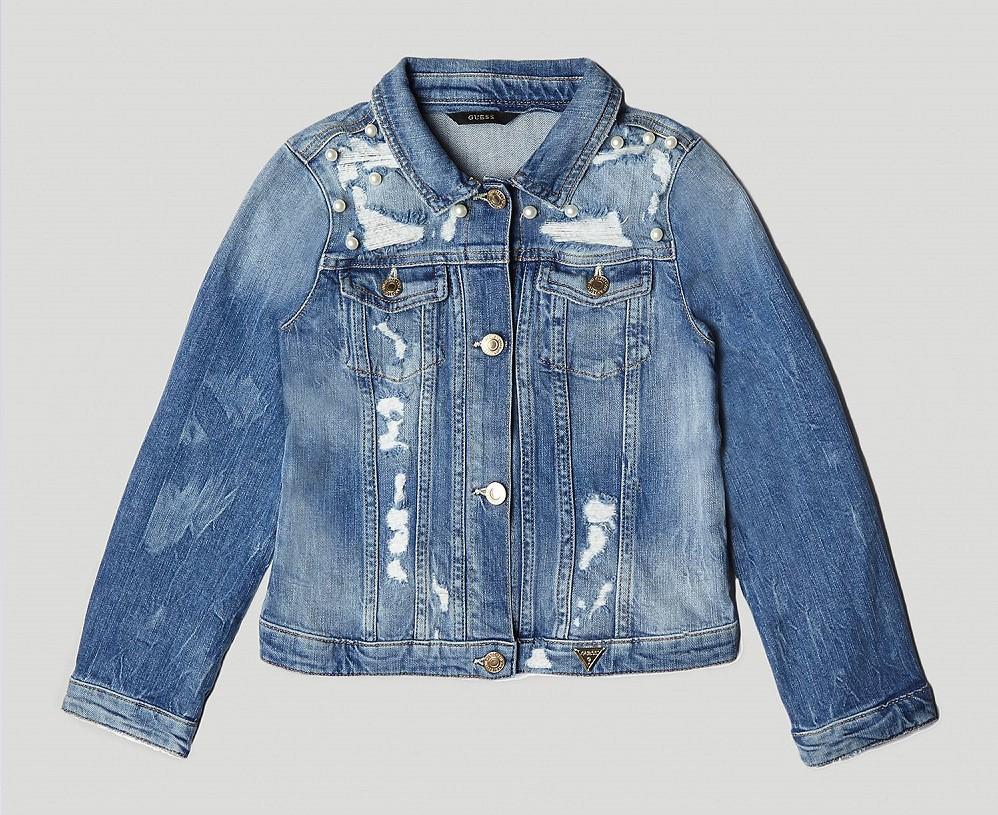 veste en jean pour femme exotic blue desigual veste en jeans desigual. Black Bedroom Furniture Sets. Home Design Ideas