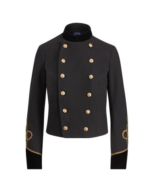 Polo Ralph Lauren Veste militaire bordée de velours