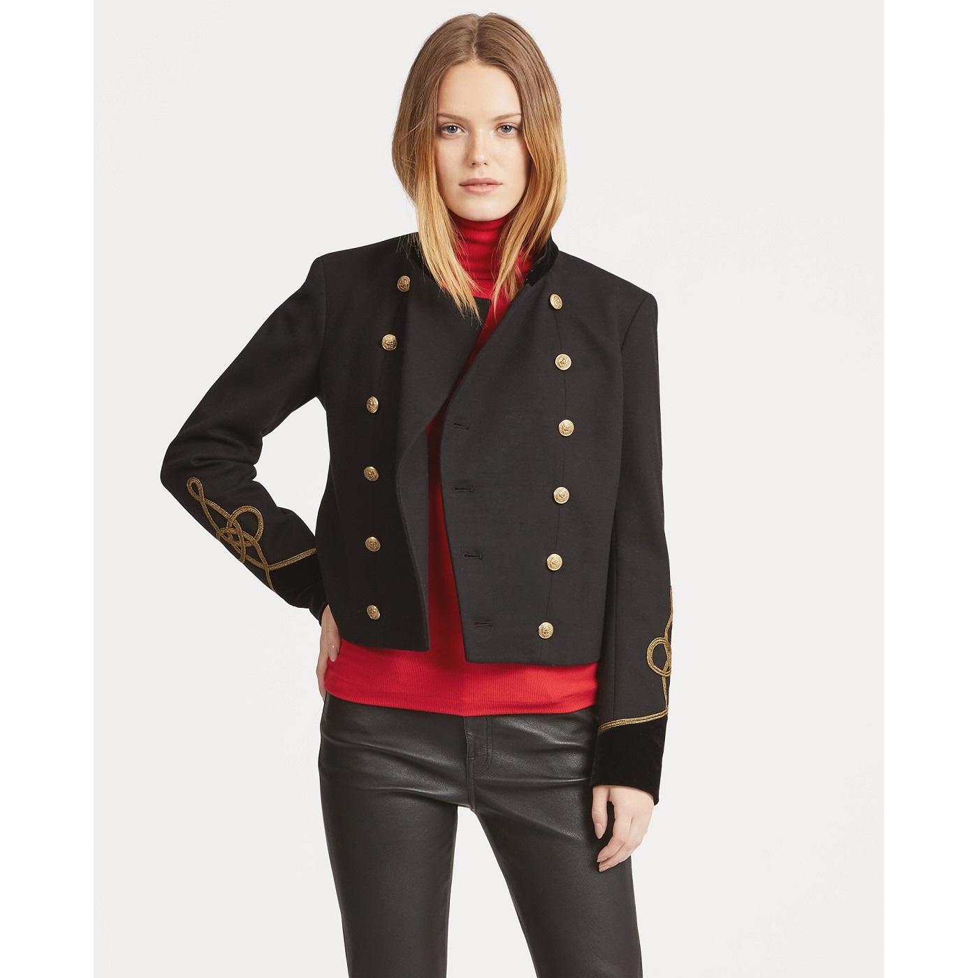 Polo Ralph Lauren Veste militaire bordée de velours - Veste Femme Ralph  Lauren  (Mode) ... at   Neuf, En stock Découvrez les Nouveautés de La  boutique en ... 34101c70da52
