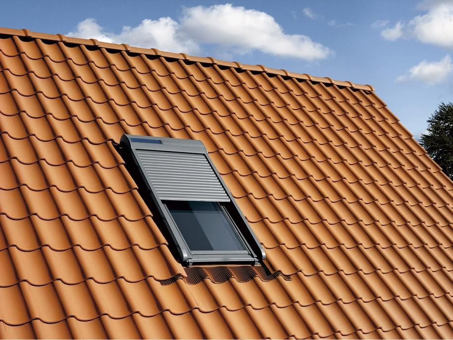 Volet Fenêtre De Toit Roulant à énergie Solaire Velux Ssl