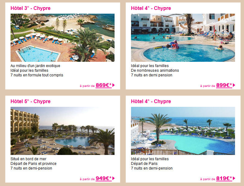 Voyage Chypre Lastminute