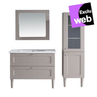meuble complet classic sous vasque vasque et miroir alin a. Black Bedroom Furniture Sets. Home Design Ideas