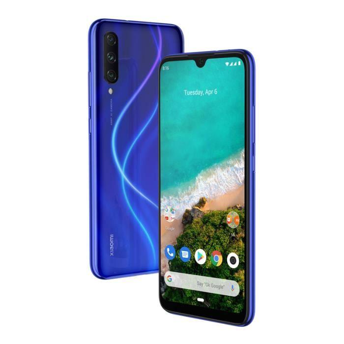Smartphone Xiaomi MI A3 64Go BLEU
