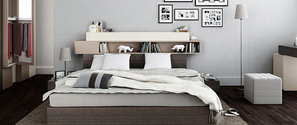 lit superpos combal avec rangements et bureau lit. Black Bedroom Furniture Sets. Home Design Ideas