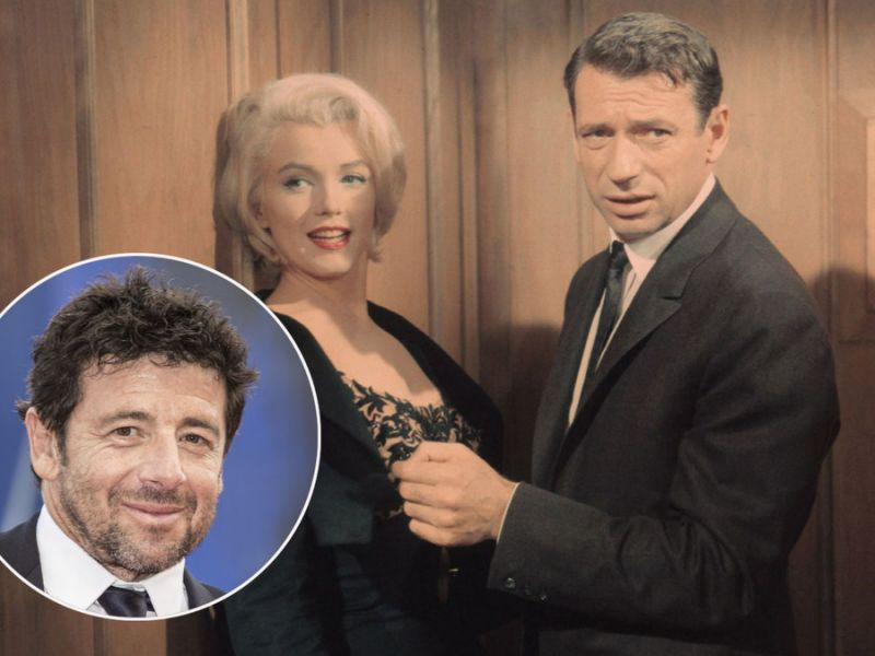 Yves Montand : son aveu troublant sur Marilyn Monroe à Patrick Bruel
