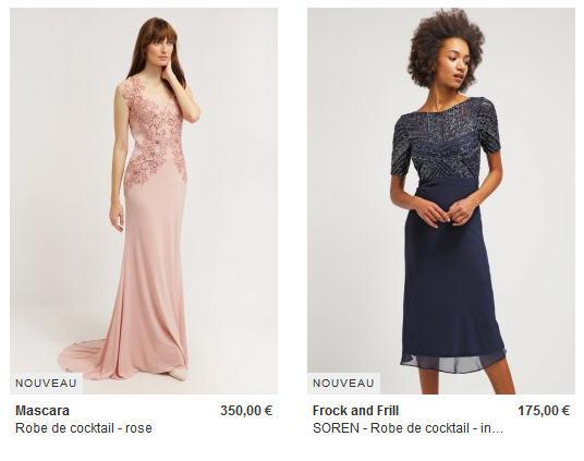 sélectionner pour le dédouanement magasiner pour véritable plusieurs couleurs Robes de Soirée et Robes de Cocktail Zalando - Iziva.com