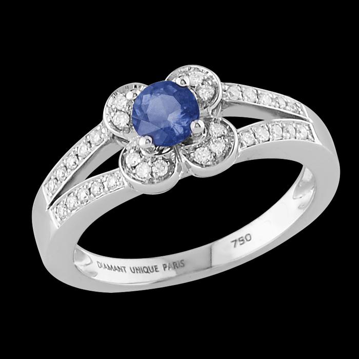 Bagues diamant unique vente flash bague etincelle or blanc prix 649 00 euro - Marmara ventes flash ...