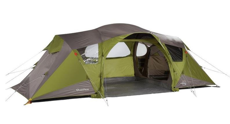 Decathlon tente quechua base seconds 4 2 prix eur for Tente 2 chambres decathlon