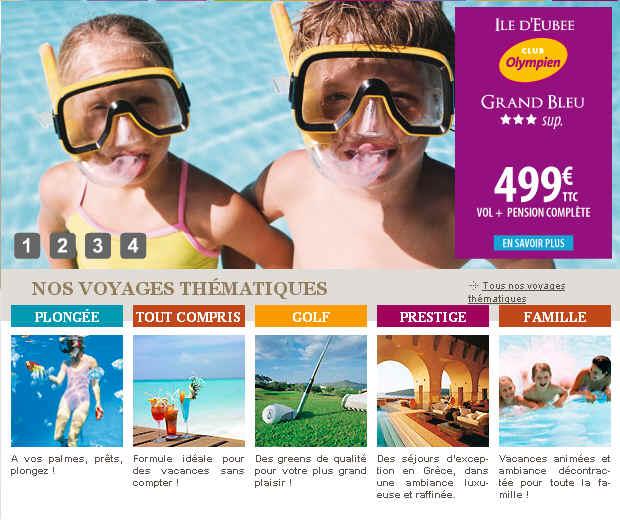 Promo Vacances Heliades jusqu'à -45% de Reduction Séjour Grece, Crete, Chypre