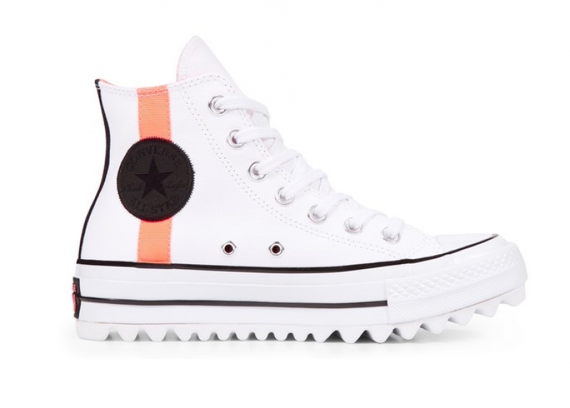 349e3192e1fab Converse Chuck Taylor All Star Lift Ripple Whites   Brights - Baskets Femme  Converse - Iziva.com