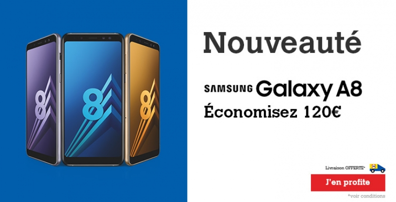 Smartphone Samsung GALAXY A8 ORCHIDEE