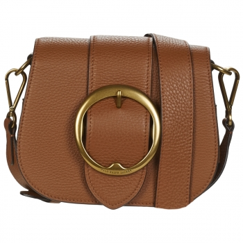Polo Ralph Lauren BELT SADDLE-CROSSBODY-MEDIUM Cognac