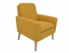 Fauteuil CHILLY tissu jaune