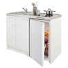 Kitchenette coloris blanc Simply - Castorama