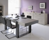 ensemble de table de jardin avec 8 fauteuils yvoire salon de jardin alinea. Black Bedroom Furniture Sets. Home Design Ideas