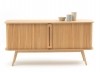 Buffet long 2 portes coulissantes WAPONG naturel