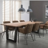 Inside75 Table repas TRAPEZE design acacia massif